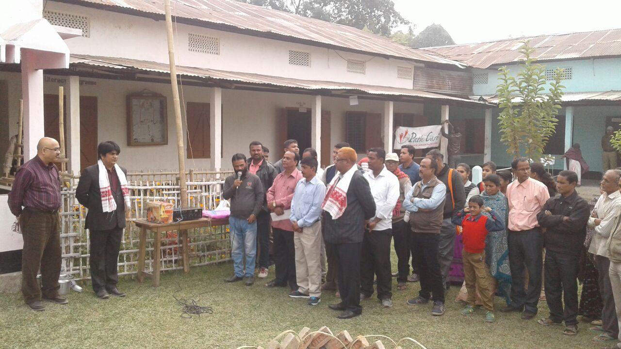 Outreach Health Camp at Sipajhar.