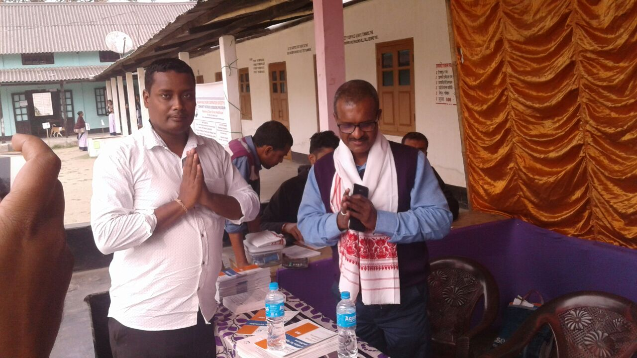 Outreach Health Camp at Sipajhar.