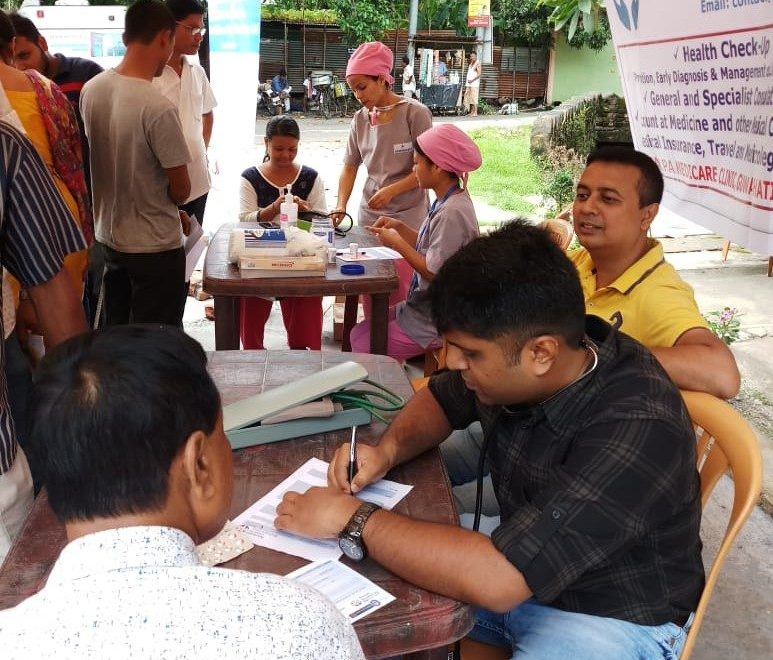 Outreach in New Guwahati Neighbourhood